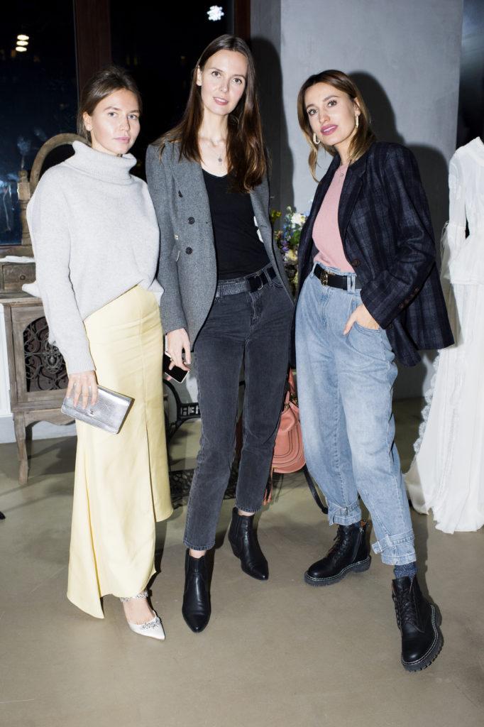 Лиза Калинина, Мария Дидарова и Натали Степанян
