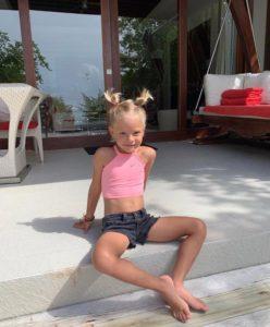 Милашка! Лучшие фотографии дочери Тимати