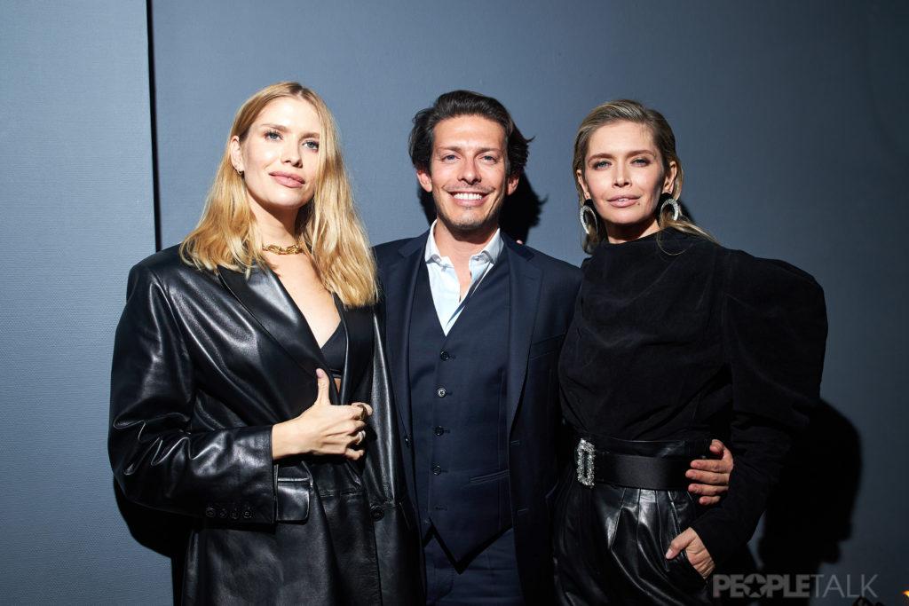 Вера Брежнева, Лена Перминова и Филипп Киркоров на вечеринке Aquazzura x Vera Brezhneva