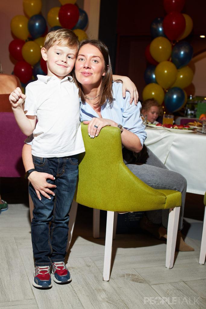 Екатерина Минкевич с сыном