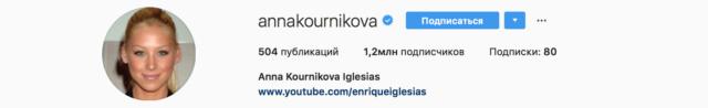 Поженились? Анна Курникова сменила фамилию