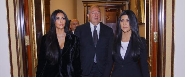 На официальном: Ким Кардашьян встретилась с президентом Армении