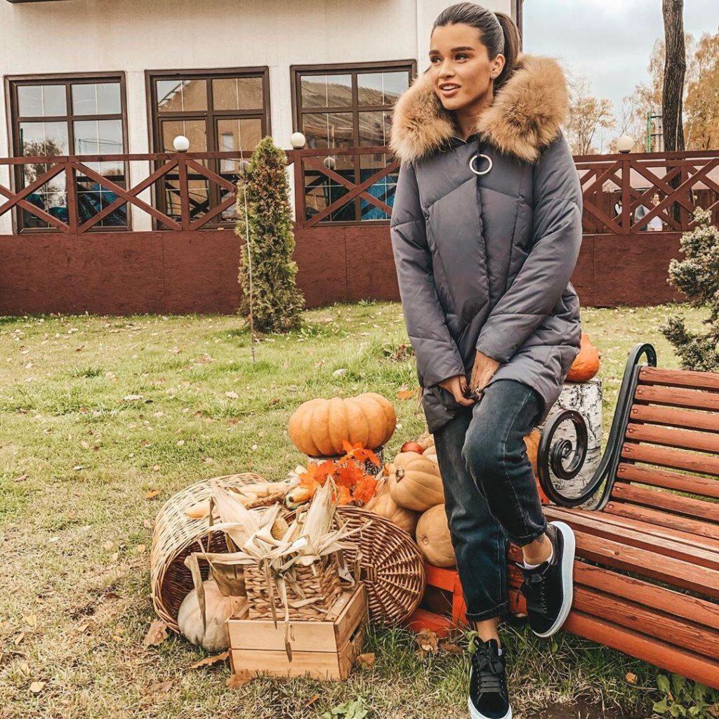 Ксения Бородина утепляется к зиме