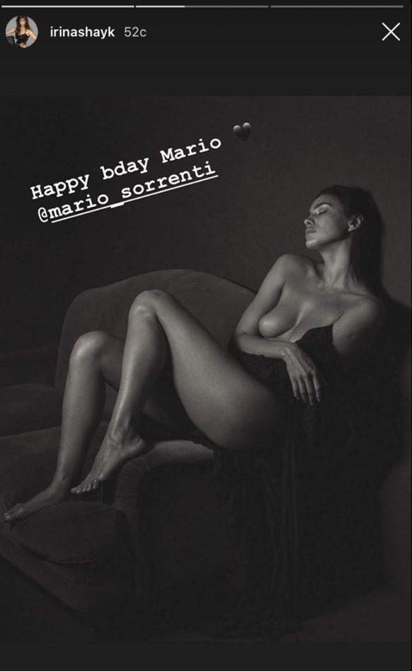 Нет слов! Очень голые фото Ирины Шейк