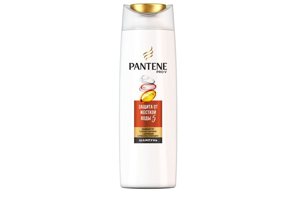 Шампунь Pantene «Защита от жесткой воды» благодаря высокой концентрации витамина С защищает волосы от сухости, спутывания и потери цвета. 346 р.