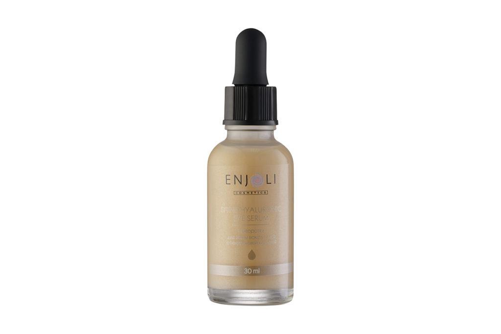 Сияющая сыворотка для зоны вокруг глаз с гиалуроновой кислотой Enjoli позаботится о том, чтобы твои глаза всегда сияли! 990 р.