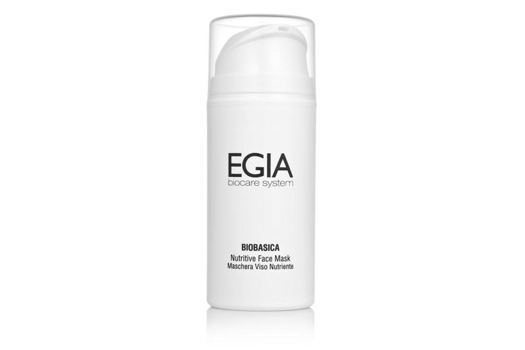 Питательная маска Nutritive Face Mask EGIA Biocare System спасет кожу от сухости и обезвоживания. Для защиты от мороза и ветра можно наносить ее за 30 минут до выхода на улицу (смывать, кстати, ее не надо). 3825 р.