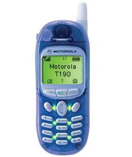 Motorola T190. Прозрачный корпус с зеленой подсветкой - настоящий хит