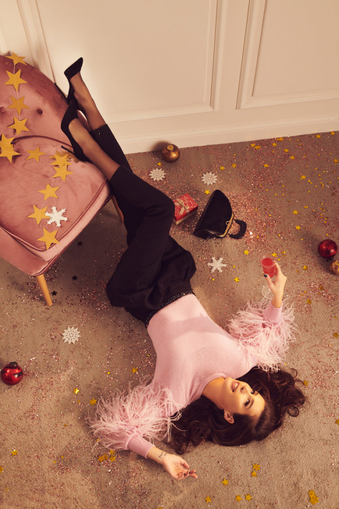 Где купить идеальную обувь на новогоднюю ночь? Берём пример с Кети Топурия