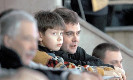 С кем встречается сын Дмитрия Медведева?