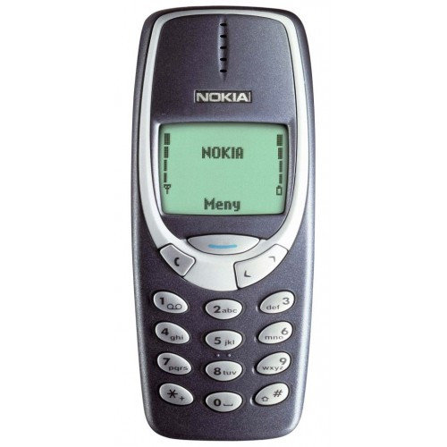Nokia 3310. Зеленая подсветка, набор рингтонов и игра «Змейка»