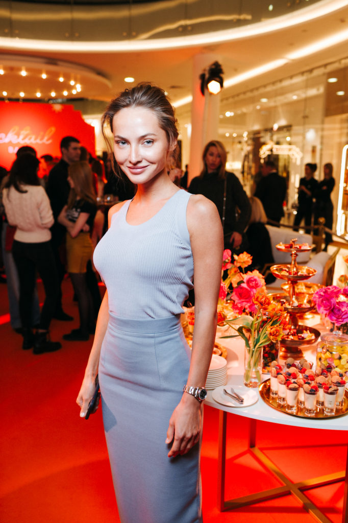 Звезды на открытии первого в России поп-ап бутика BVLGARI