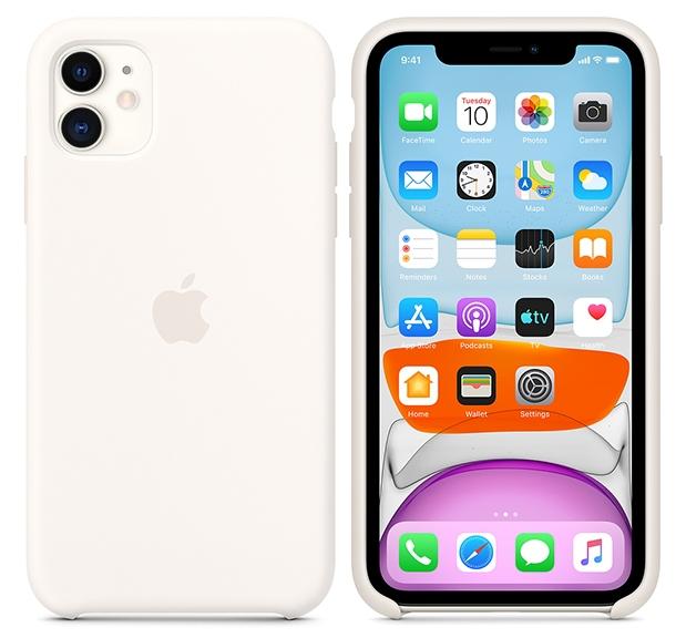 Чехол для iPhone 11 Silicone Case, 1 390 р. (applepack.ru)