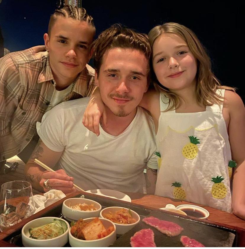 Любимая семья! Самые милые фото Бекхэмов