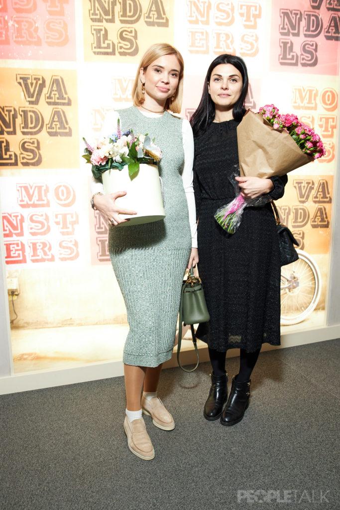 Екатерина Портнягина и Ольга Мгеладзе
