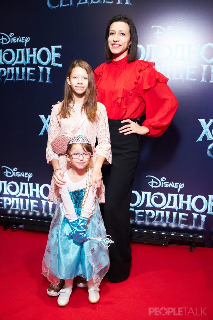 Звезды на российской премьере мультфильма «Холодное сердце 2»