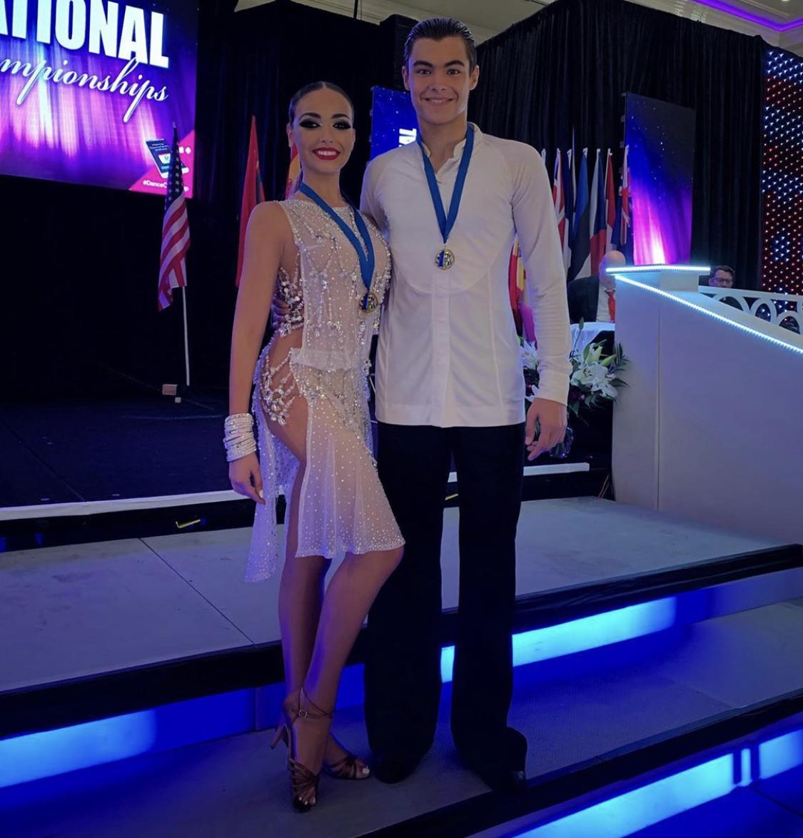 Тоня Худякова стала чемпионкой мира по бальным танцам