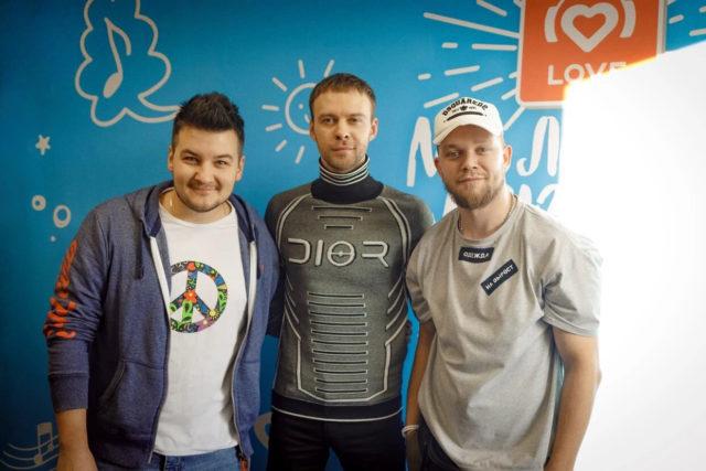 Макс Барских в Утреннем шоу «Красавцы» Love Radio: о заработке и новом альбоме