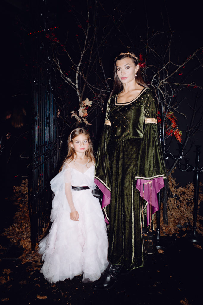 Ирина Йовович с дочкой