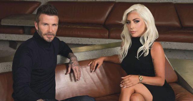 А что подумает Вики? Леди Гага и Дэвид Бекхэм взяли интервью друг у друга