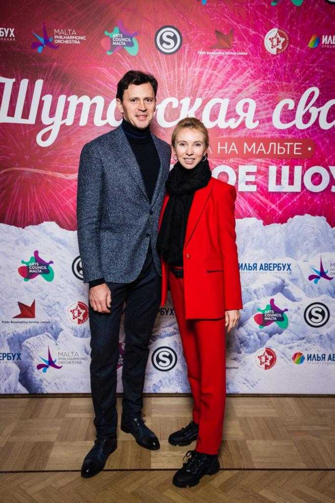 Максим Маринин и Татьяна Тотьмянина