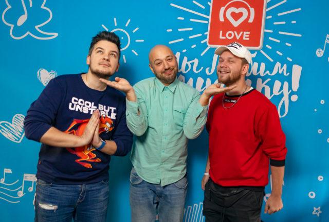 Markoni в Утреннем шоу «Красавцы» Love Radio: о комплексах и семье
