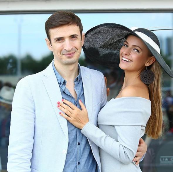 Алексей Гаврилов с женой