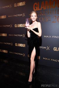 Регина Тодоренко, Юлия Барановская и Мария Кожевникова на премии Glamour «Женщина года-2019»