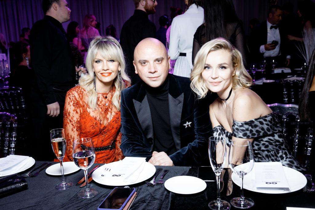 Полина Гагарина, Светлана Ходченкова и Ляйсан Утяшева на премииGQ Super Women