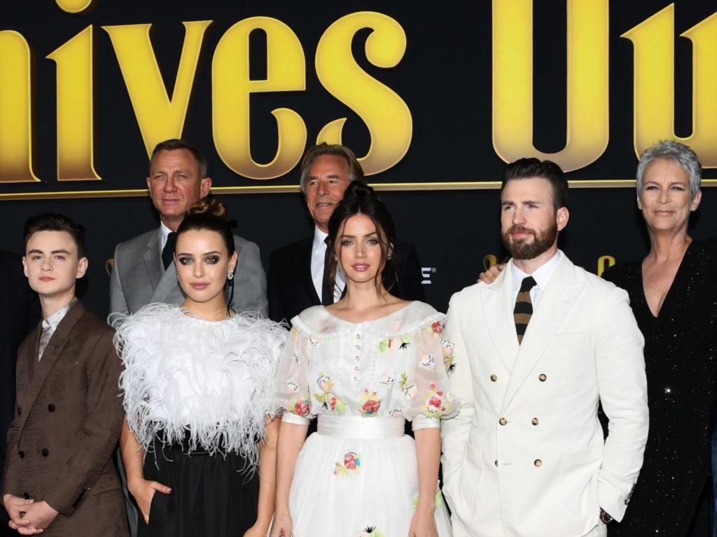 Звезды на премьере фильма «Достать ножи» в Лос-Анджелесе