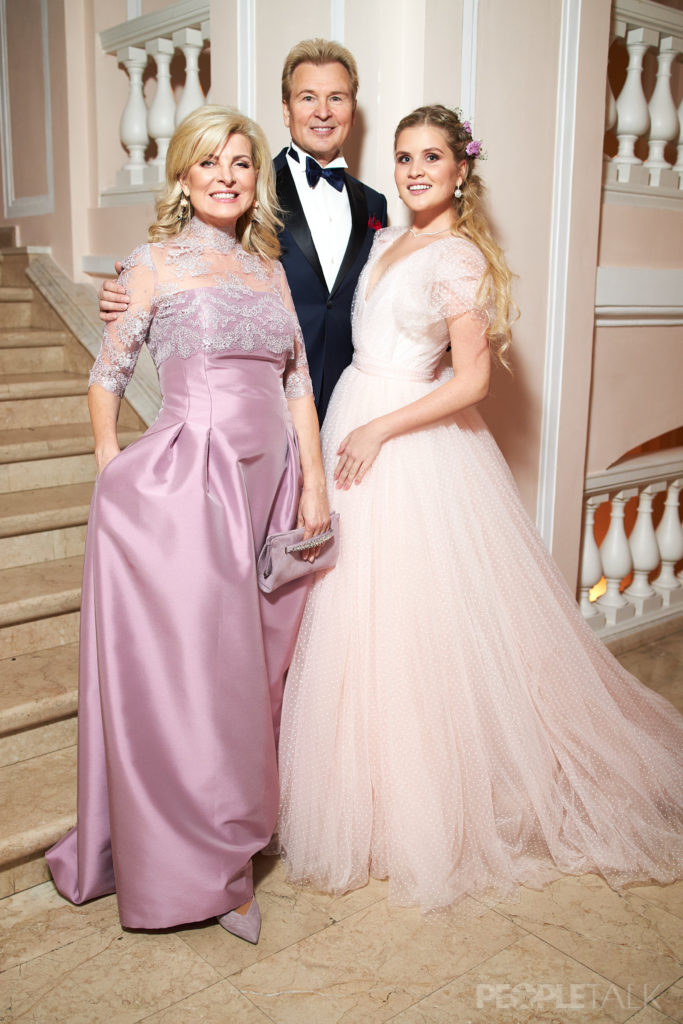 Решетова, Тимати и Яна Рудковская на Балу дебютанток Tatler