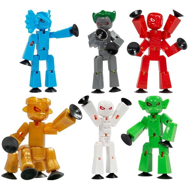 Stikbot. Наборы для анимационного творчества. Человечков можно крепить к любой поверхности и придавать разные позы. От 439 р.
