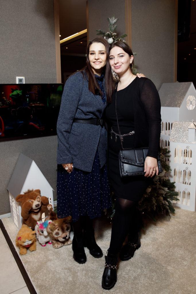 Глафира Тарханова и Светлана Арчи