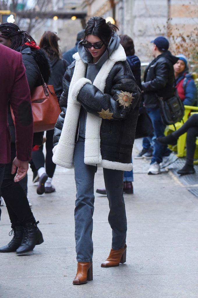 На холодное время года: самые стильные зимние выходы звезд