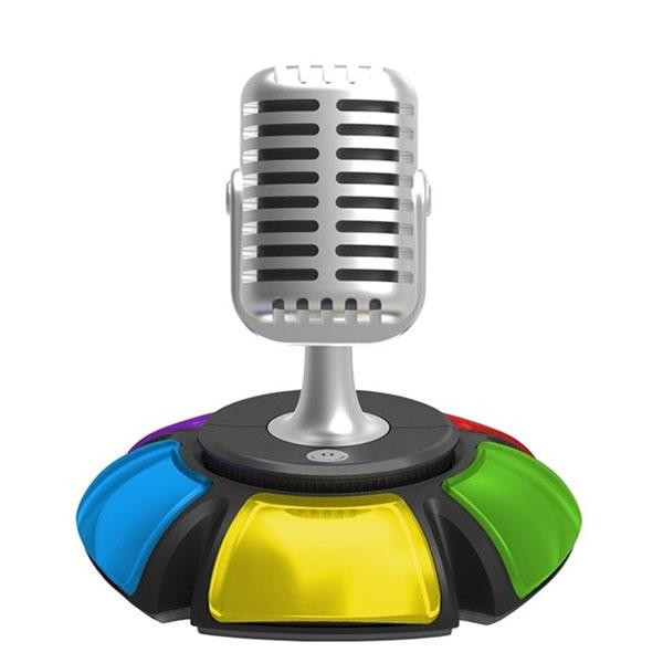 ZanZoon. Интерактивный микрофон на подставке с 5-ю разноцветными кнопками для играющих. Предназначен для интерактивной игры по типу «Угадай мелодию». 2649 р.