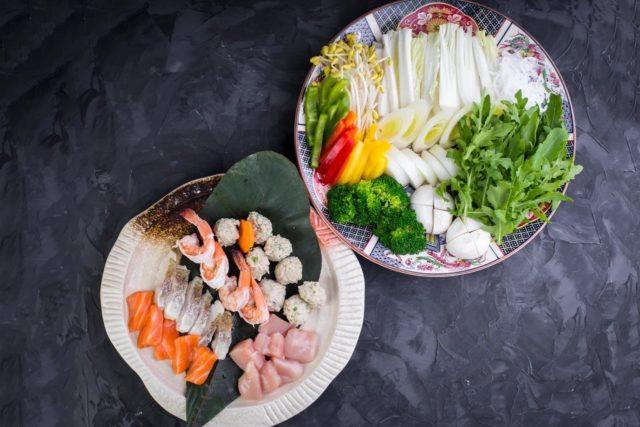 Ресторан «Цветение сакуры»: блюдо для компании
