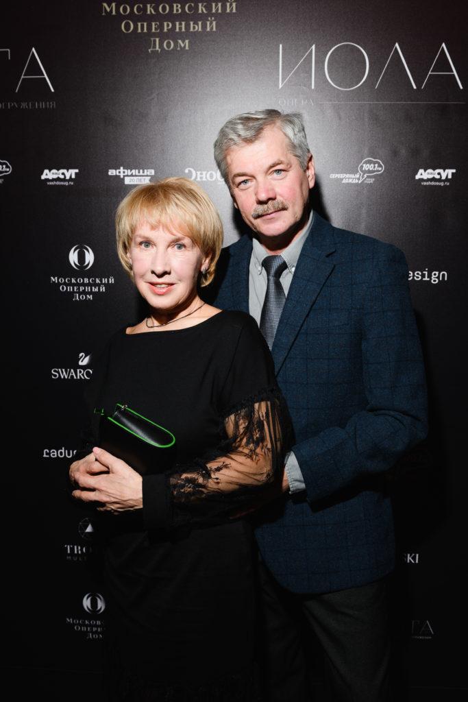 Галина и Анатолий Шпица