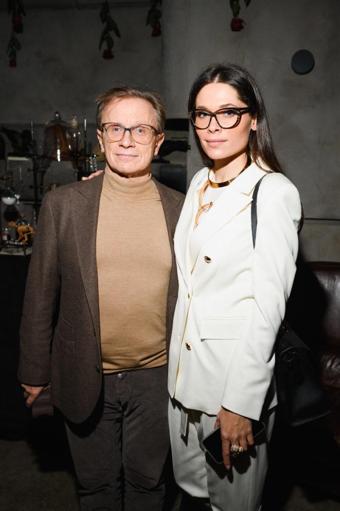 Борис Белоцерковский и Полина Аскери