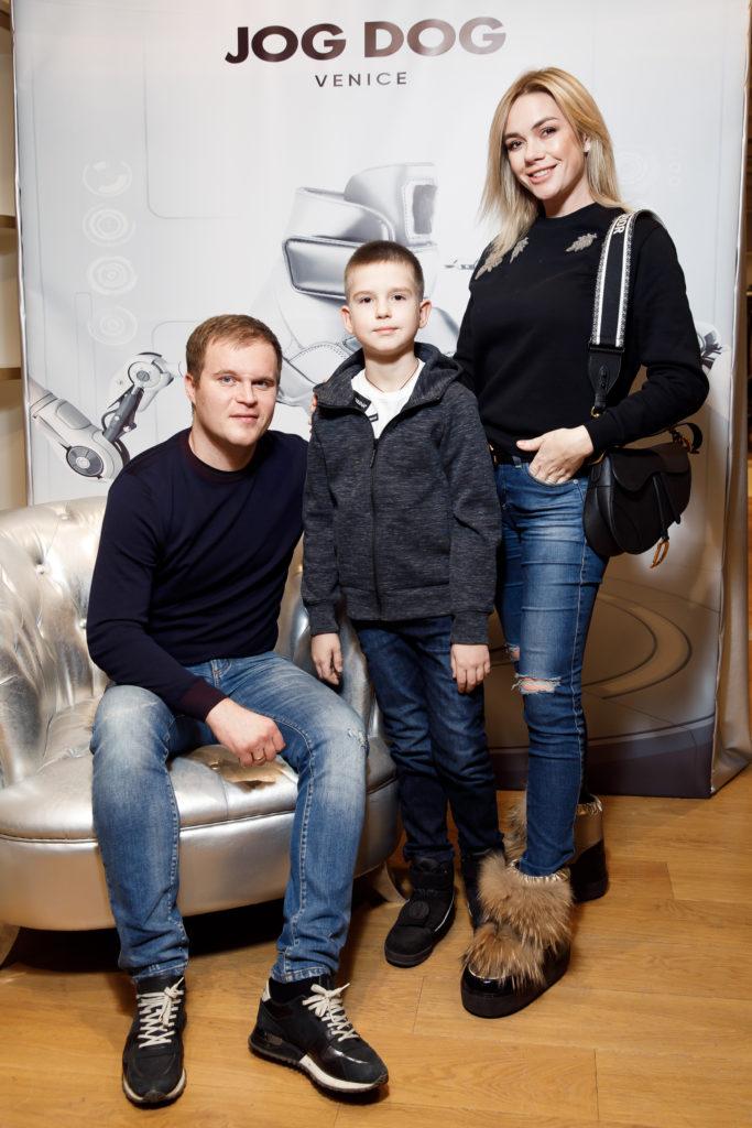 Анастасия Трегубова с семьей