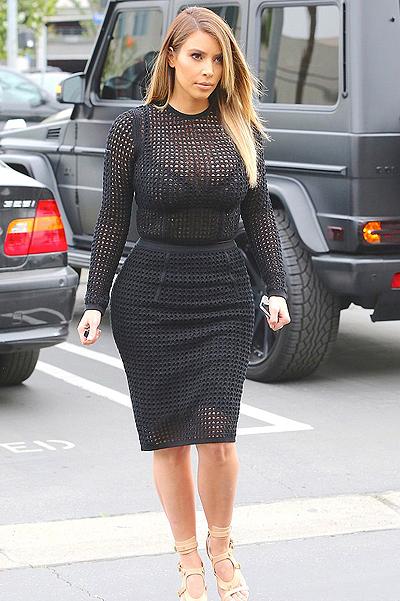 Вспомним все: как менялся стиль Ким Кардашьян