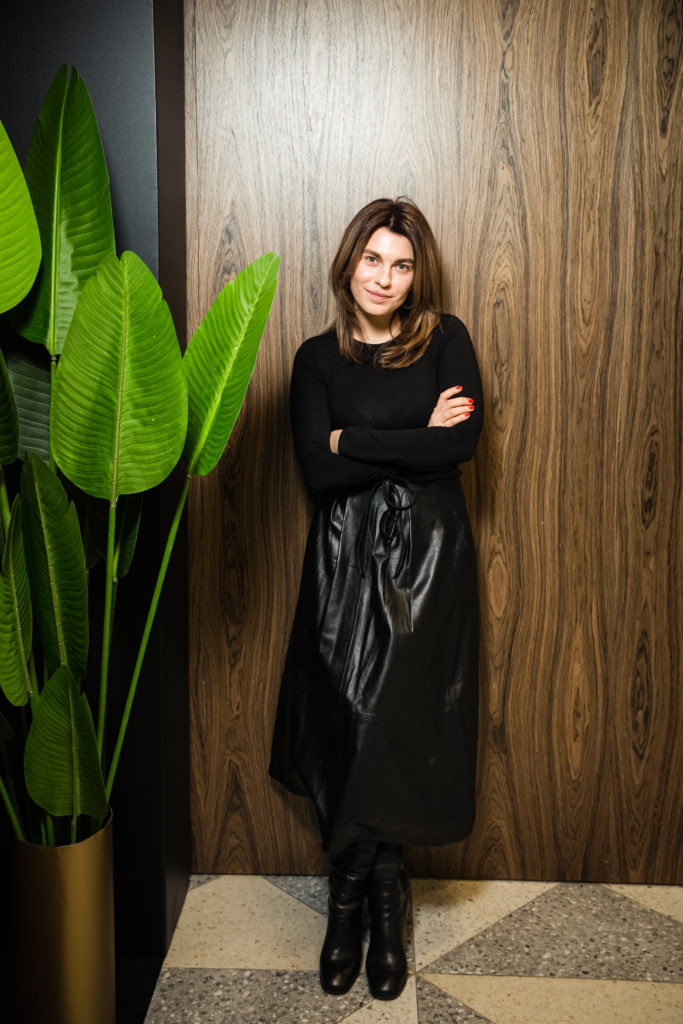 Оксана Кравчук (главный редактор журнала Peopletalk)