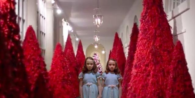 Красота! Как Мелания Трамп готовится к Рождеству?