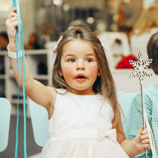 Ресторан RIBAMELLE: новогодние елки для детей