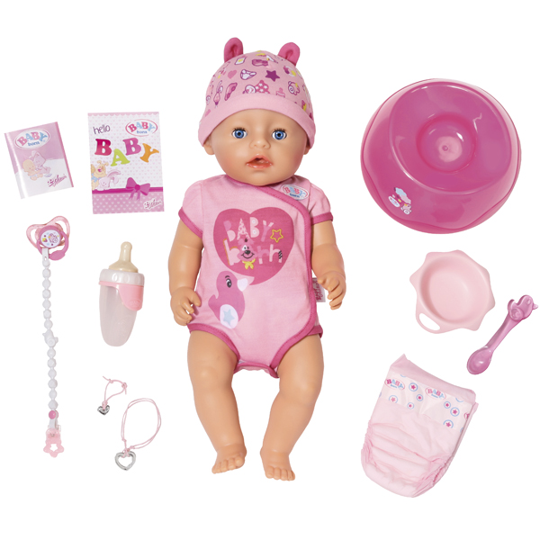 Zapf Creation Baby born. Интерактивная кукла-пупс. 5399 р.