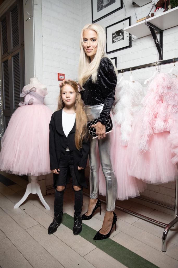 Анна Дубовицкая с дочкой Любой