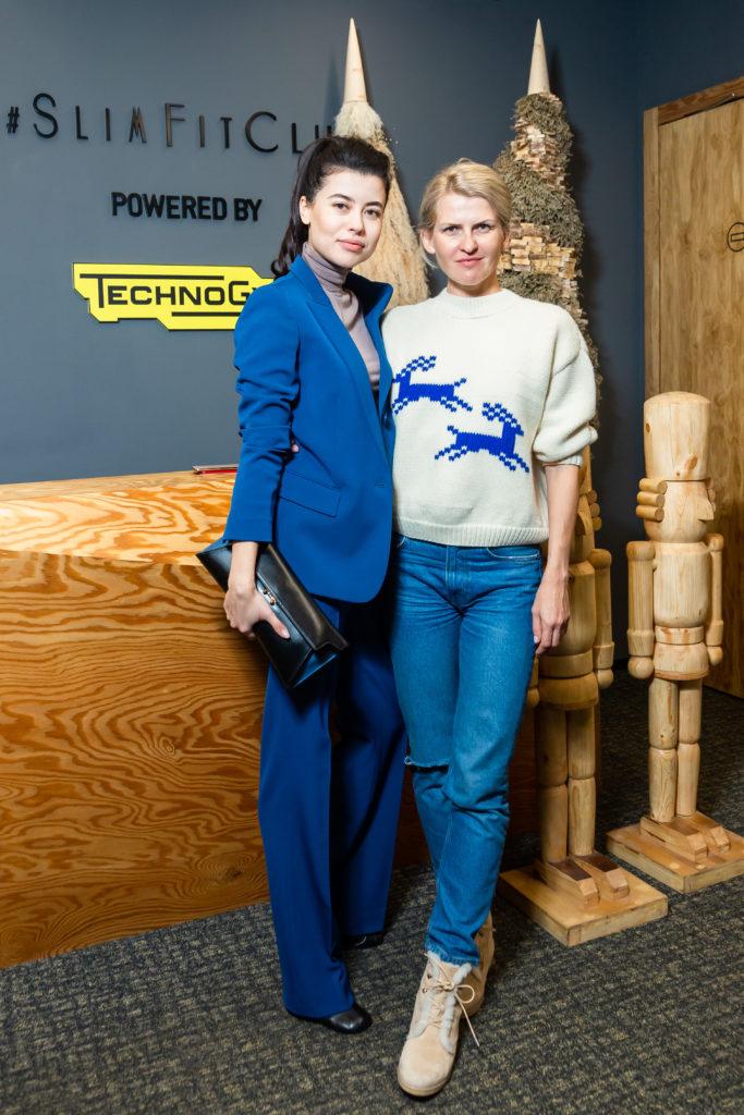 Вика Газинская и Полина Киценко собрали друзей на «эволюционный ужин»