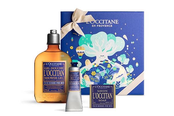 Набор «Харизматичный L'Occitane», L'Occitane, 2430 р. Гель для душа, бальзам после бритья и мыло – ничего лишнего. Фишка в том, что аромат у средств не типичный мужской «морской бриз», а насыщенная лаванда и травы Прованса. Он точно оценит.