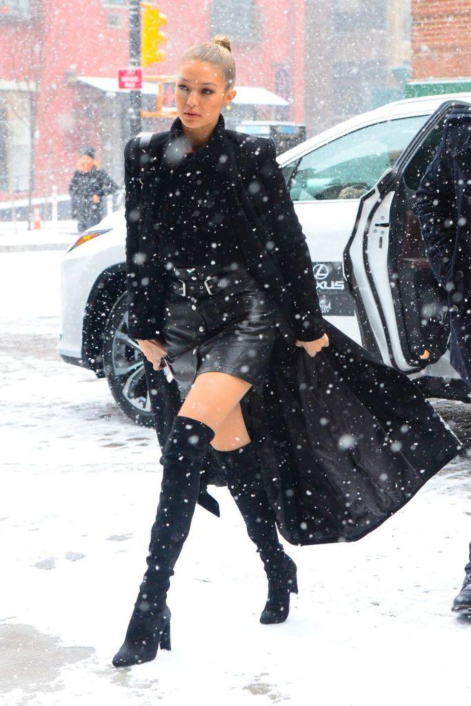 В первый день декабря: топ лучших зимних выходов звёзд