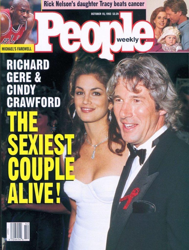 1993/1994. Самая сексуальная пара — Синди Кроуфорд и Ричард Гир