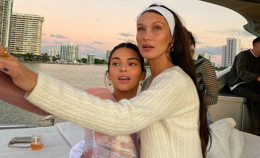 Кендалл Дженнер и Белла Хадид в Майами. Рассказываем, как проходит их отдых